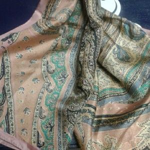 Awesome paisley scarf, Perry Ellis